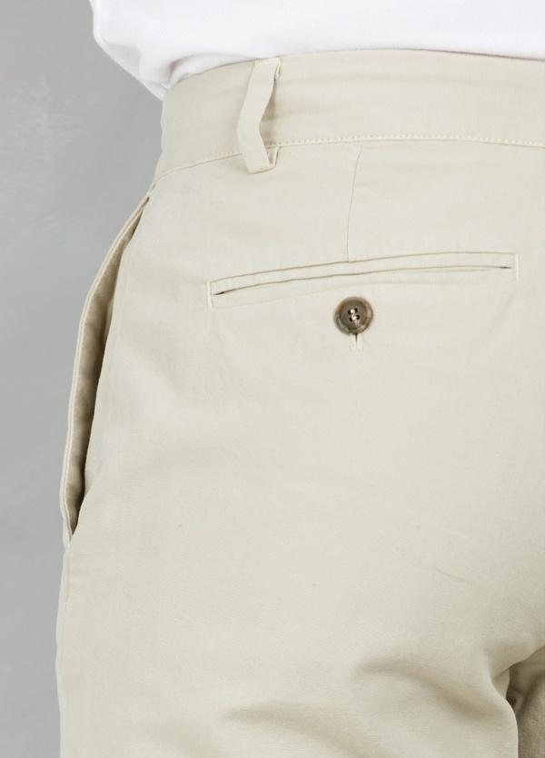 Short Furest Casual Wear color beige, 100% Algodón. - Ítem1
