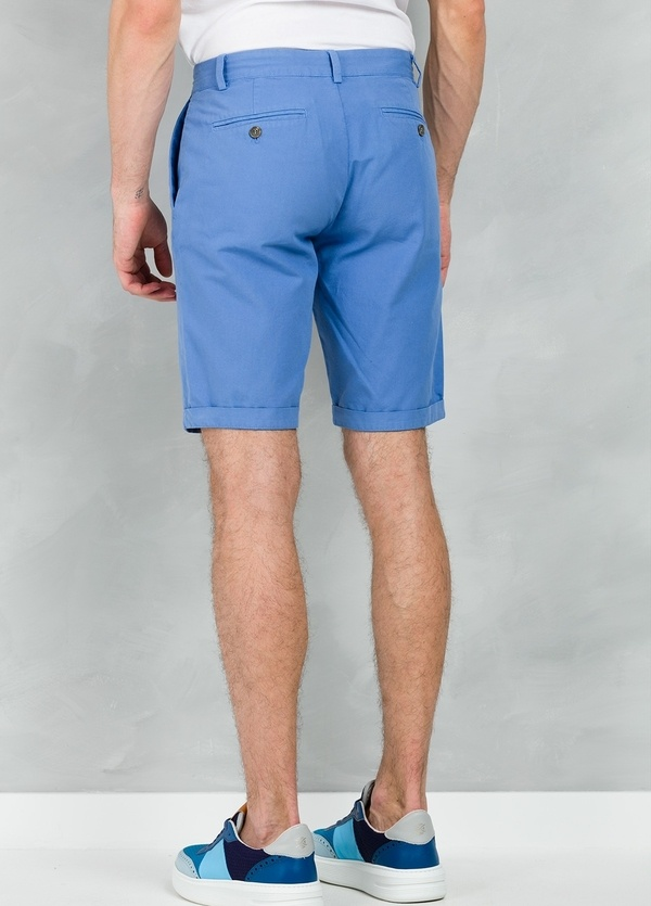 Short Furest Casual Wear color azul, 100% Algodón. - Ítem2