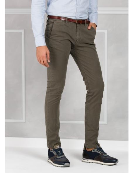 Pantalón chino color gris, Algodón. - Ítem3
