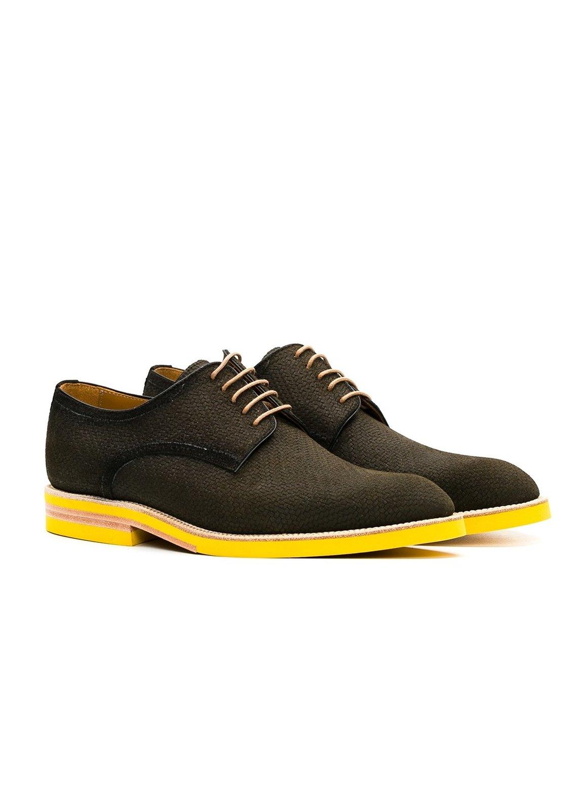 Calzado Sport Wear color kaki, 100% Serraje. - Ítem3