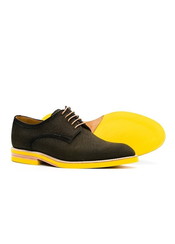 Calzado Sport Wear color kaki, 100% Serraje. - Ítem5