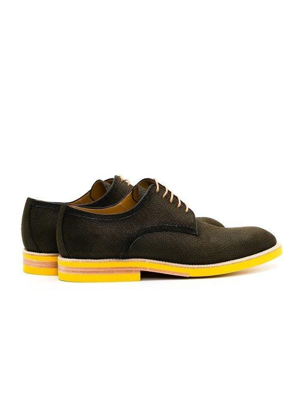 Calzado Sport Wear color kaki, 100% Serraje. - Ítem4