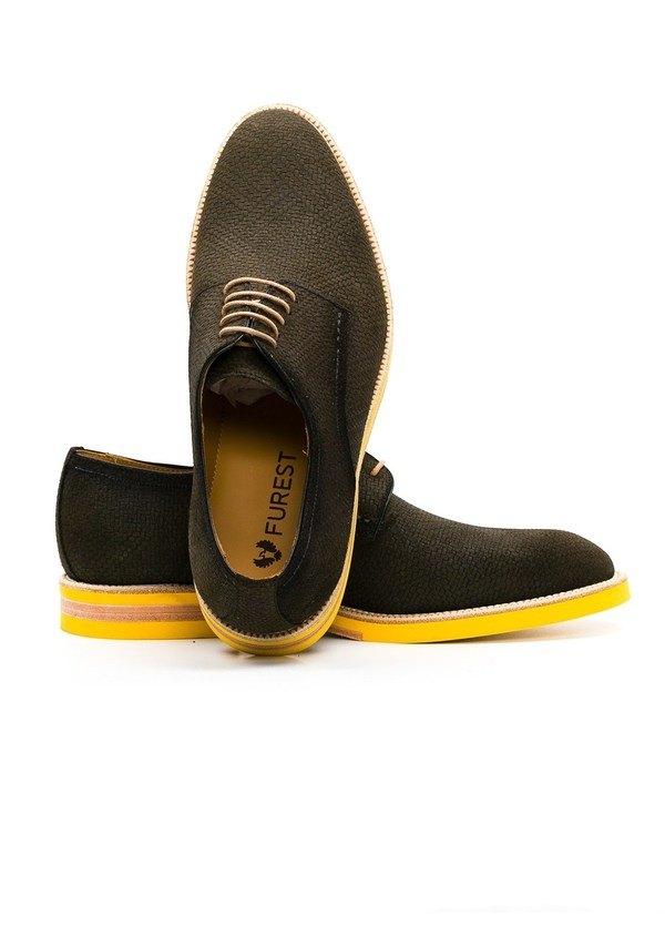 Calzado Sport Wear color kaki, 100% Serraje. - Ítem1