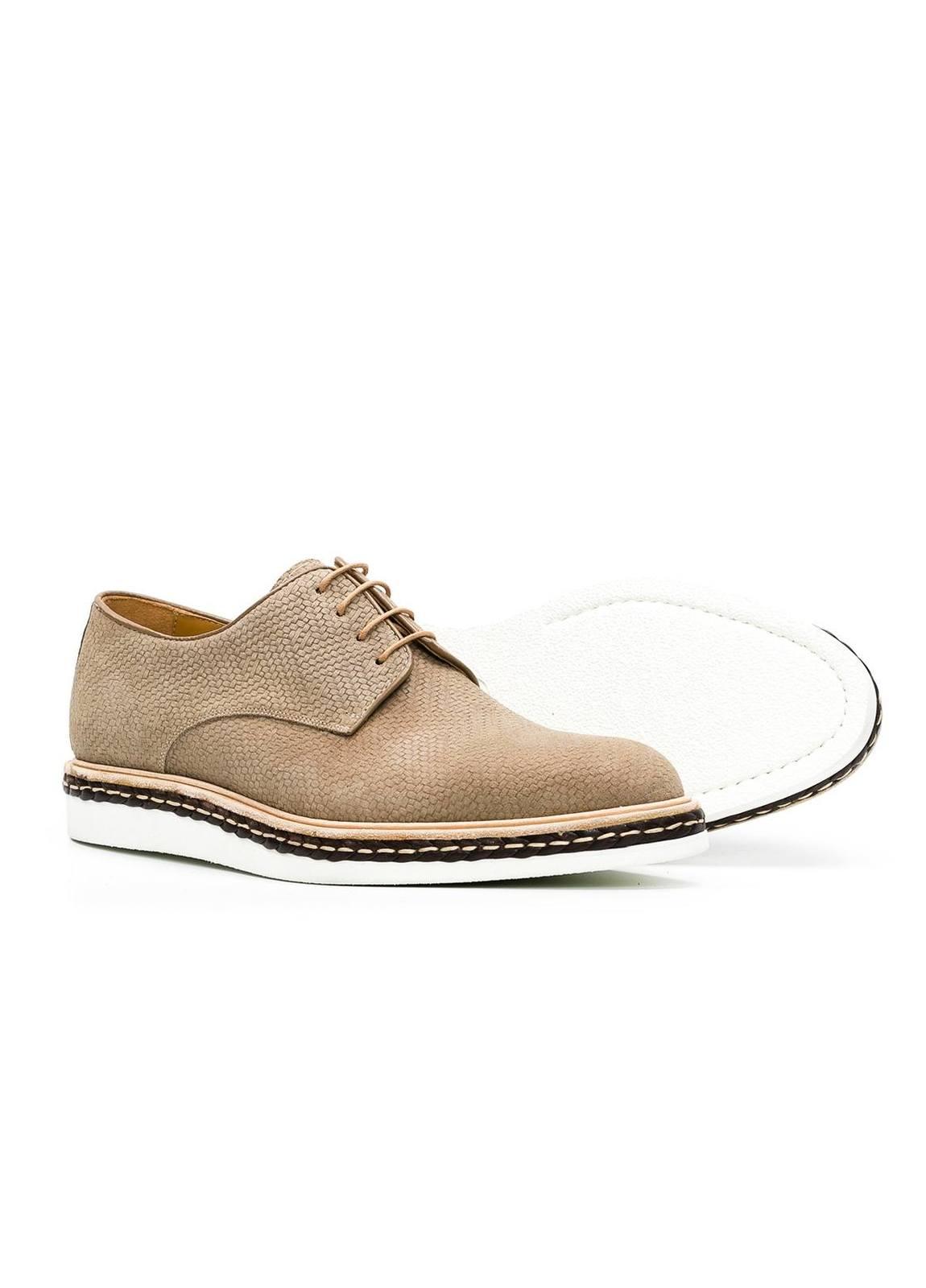 Calzado Sport Wear color beige,100% Serraje. - Ítem1