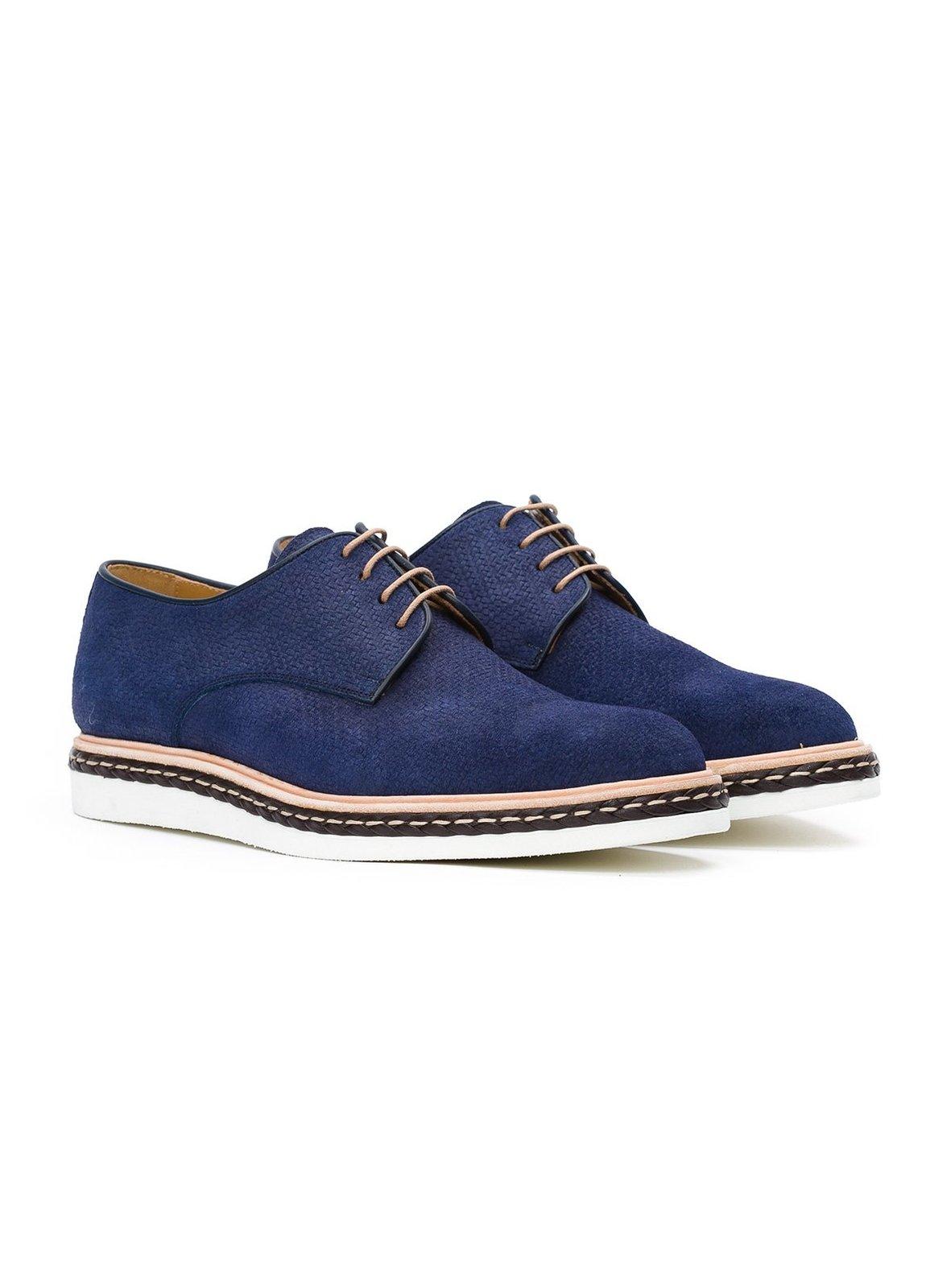 Calzado Sport Wear color azul,100% Serraje. - Ítem2