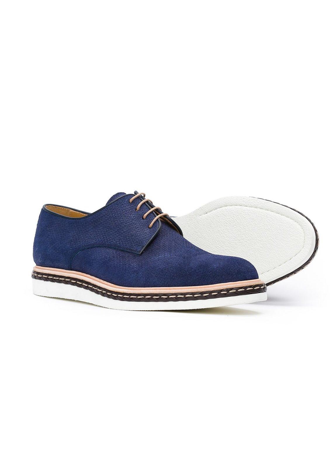 Calzado Sport Wear color azul,100% Serraje. - Ítem3