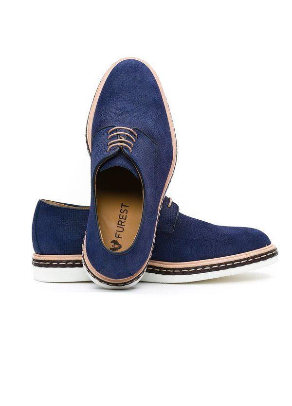 Calzado Sport Wear color azul,100% Serraje. - Ítem4
