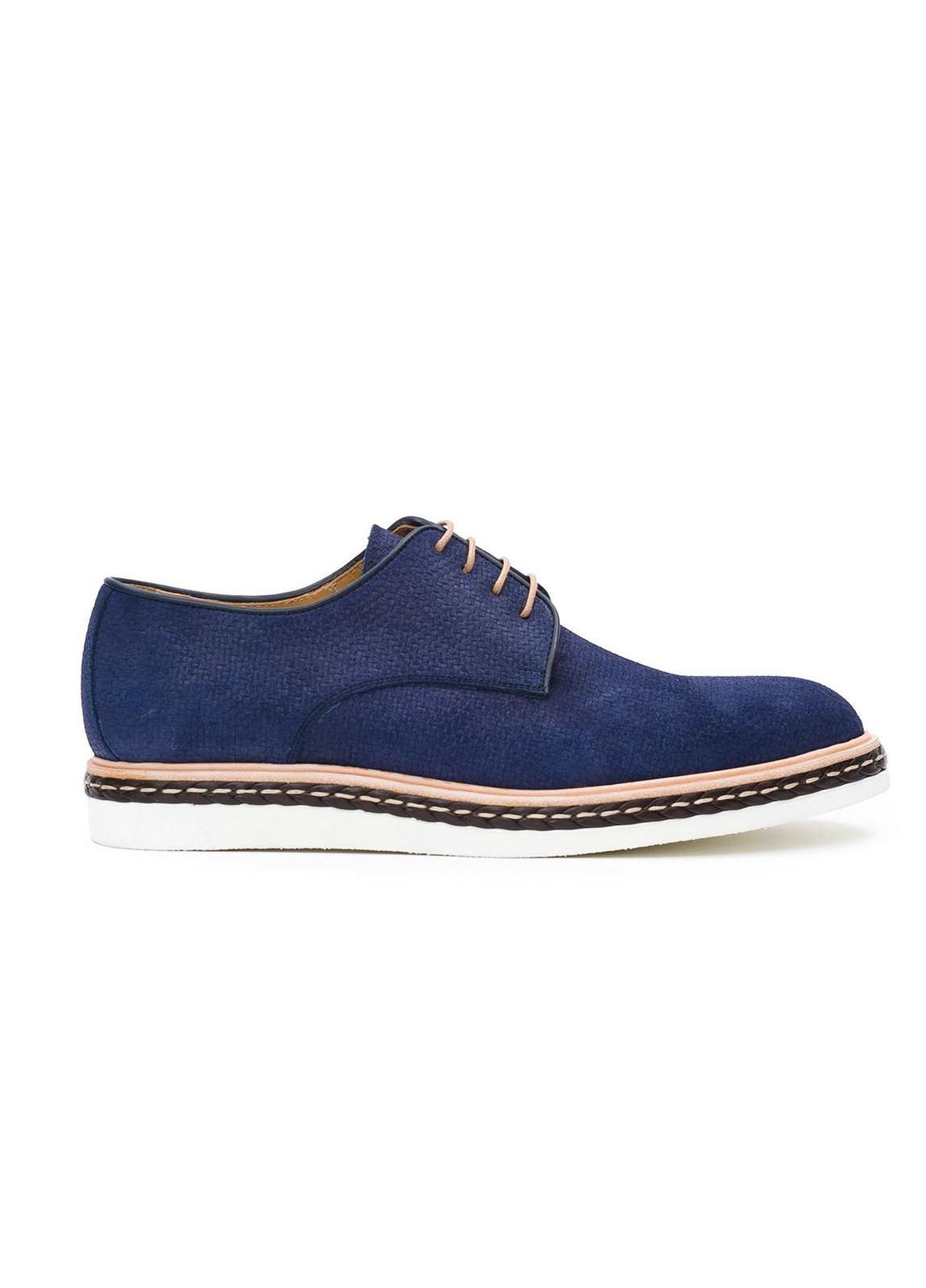 Calzado Sport Wear color azul,100% Serraje.