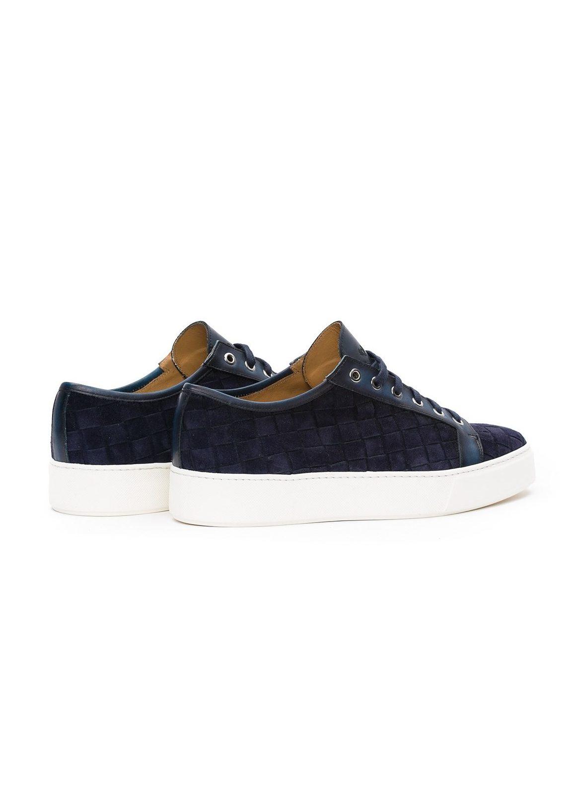 Zapato Sport wear color azul marino,100% Serraje. - Ítem1