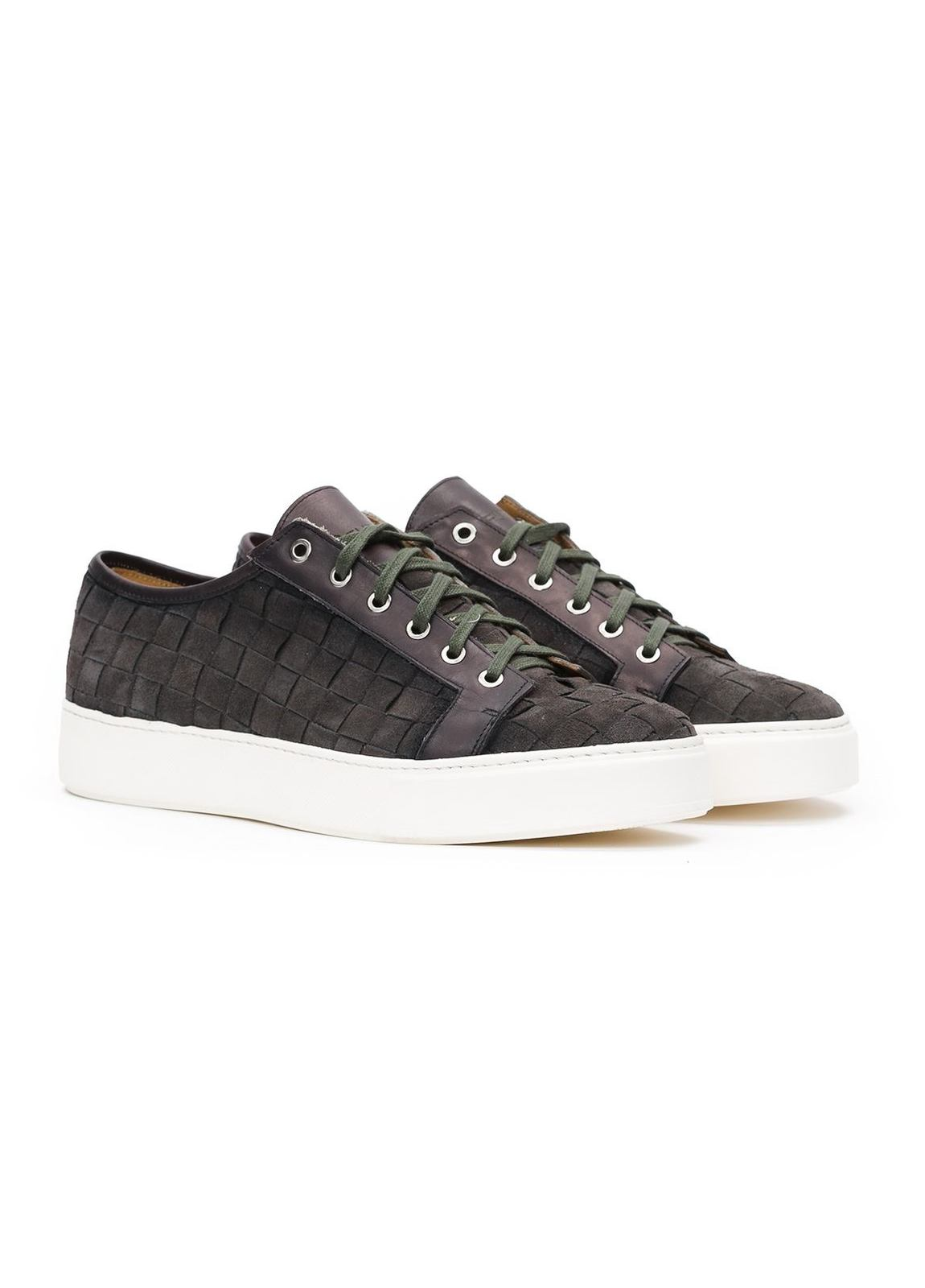 Zapato Sport Wear color gris, 100% Serraje. - Ítem3