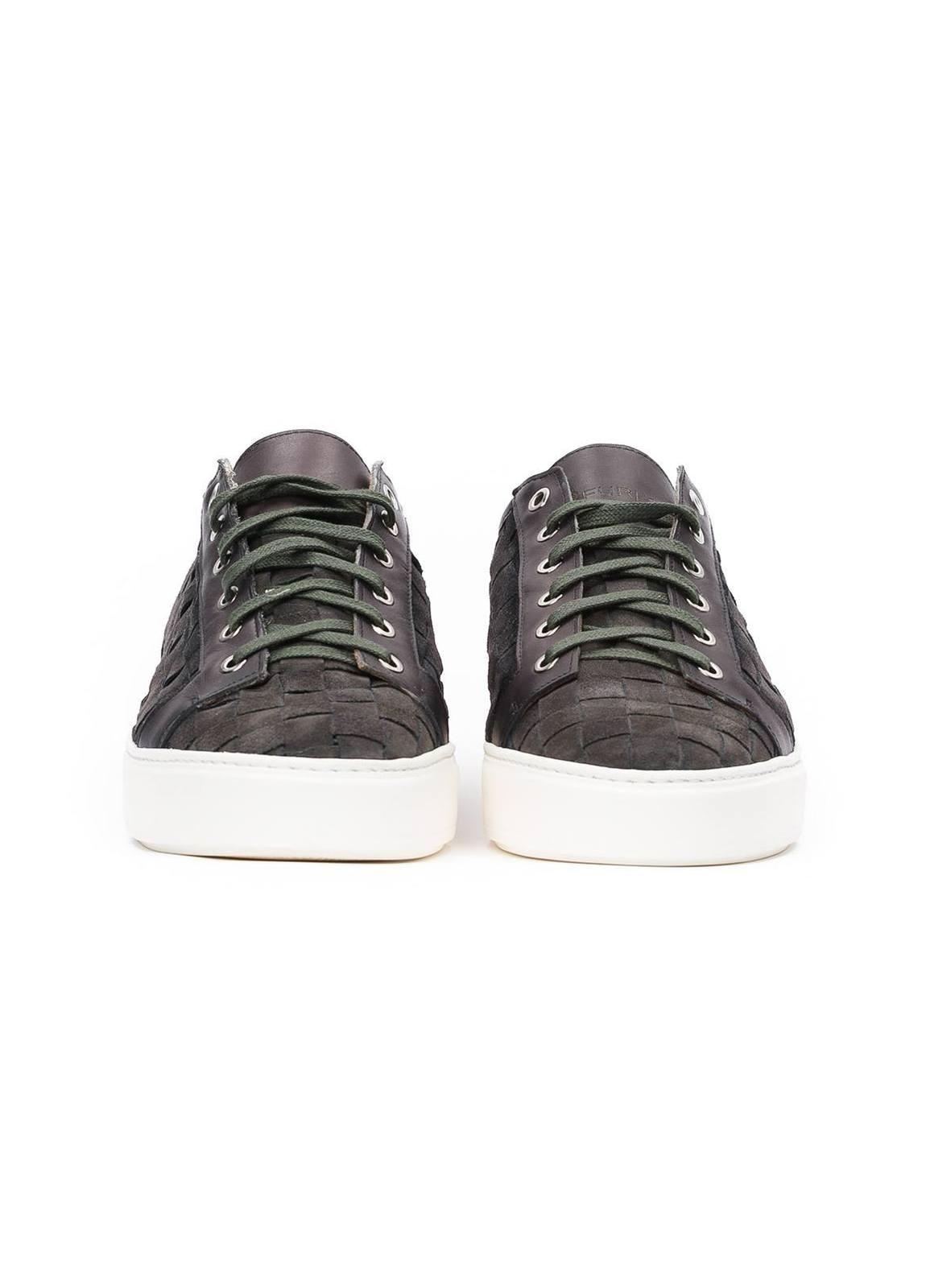 Zapato Sport Wear color gris, 100% Serraje. - Ítem2