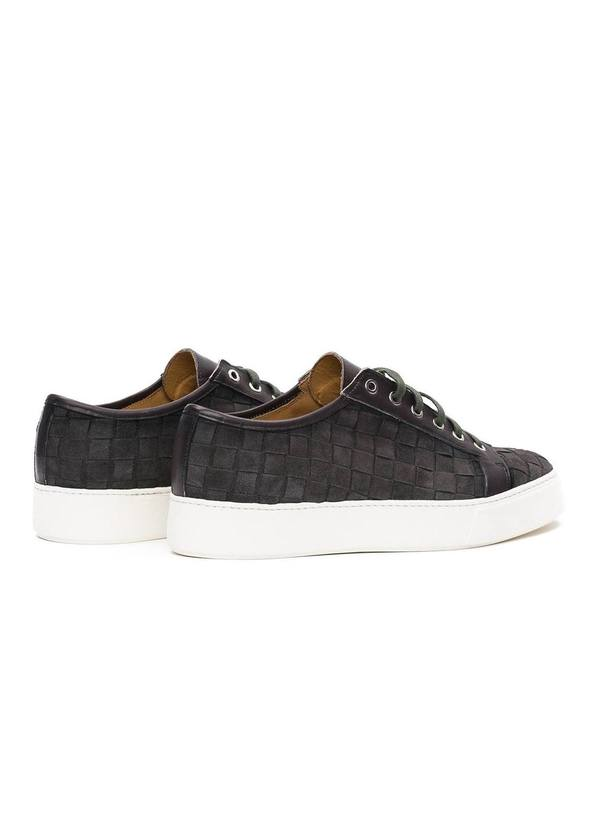 Zapato Sport Wear color gris, 100% Serraje. - Ítem4