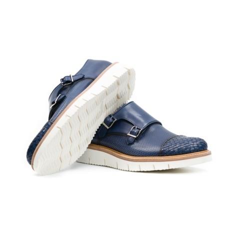 Calzado Sport Wear color azul, 100% Piel. - Ítem2