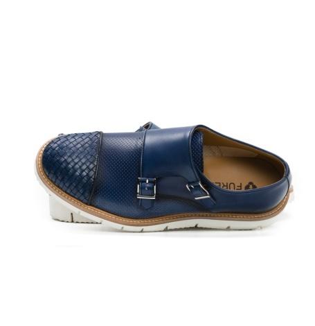 Calzado Sport Wear color azul, 100% Piel. - Ítem1
