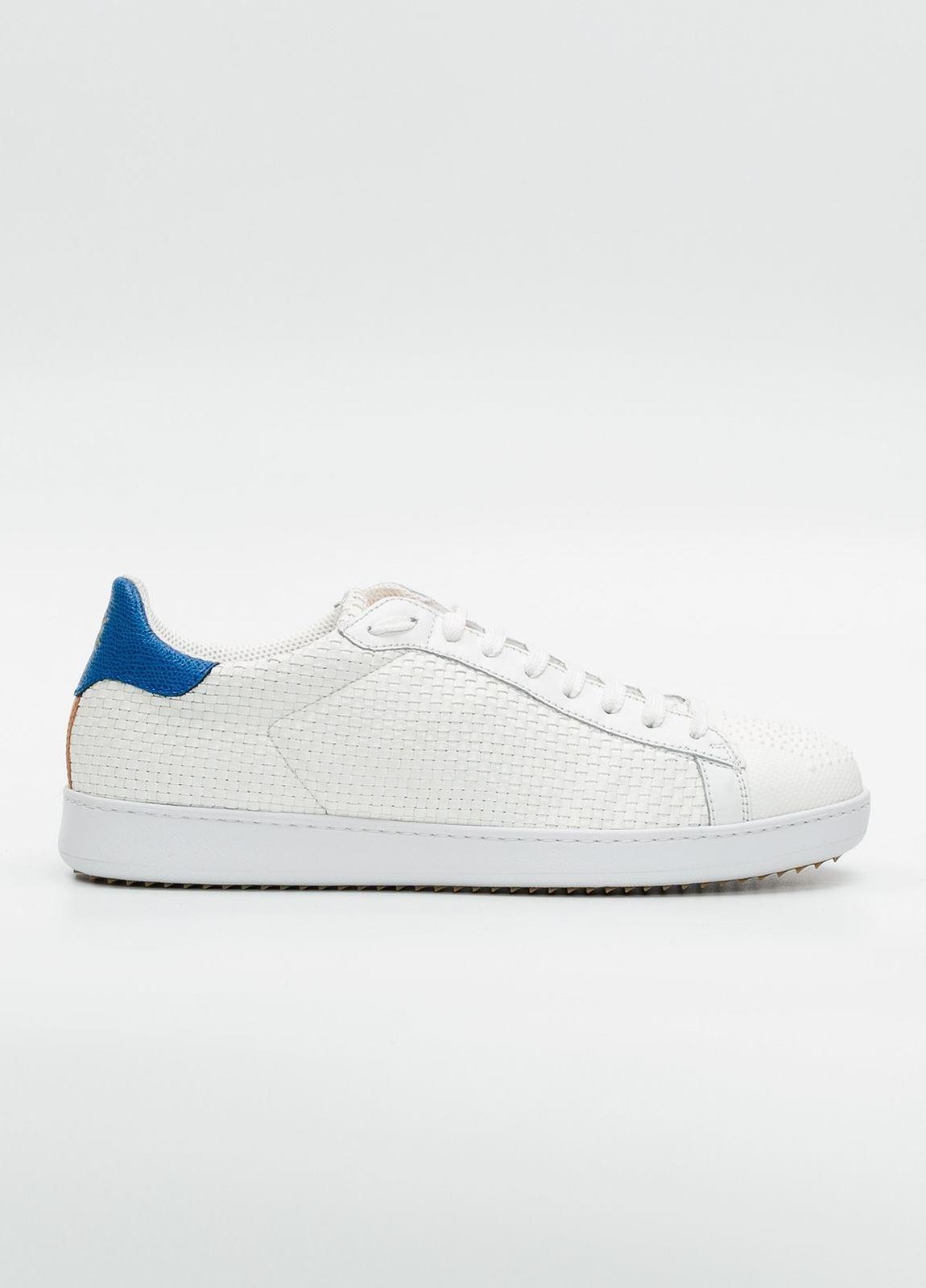 Calzado Sport color blanco, 100% Piel.