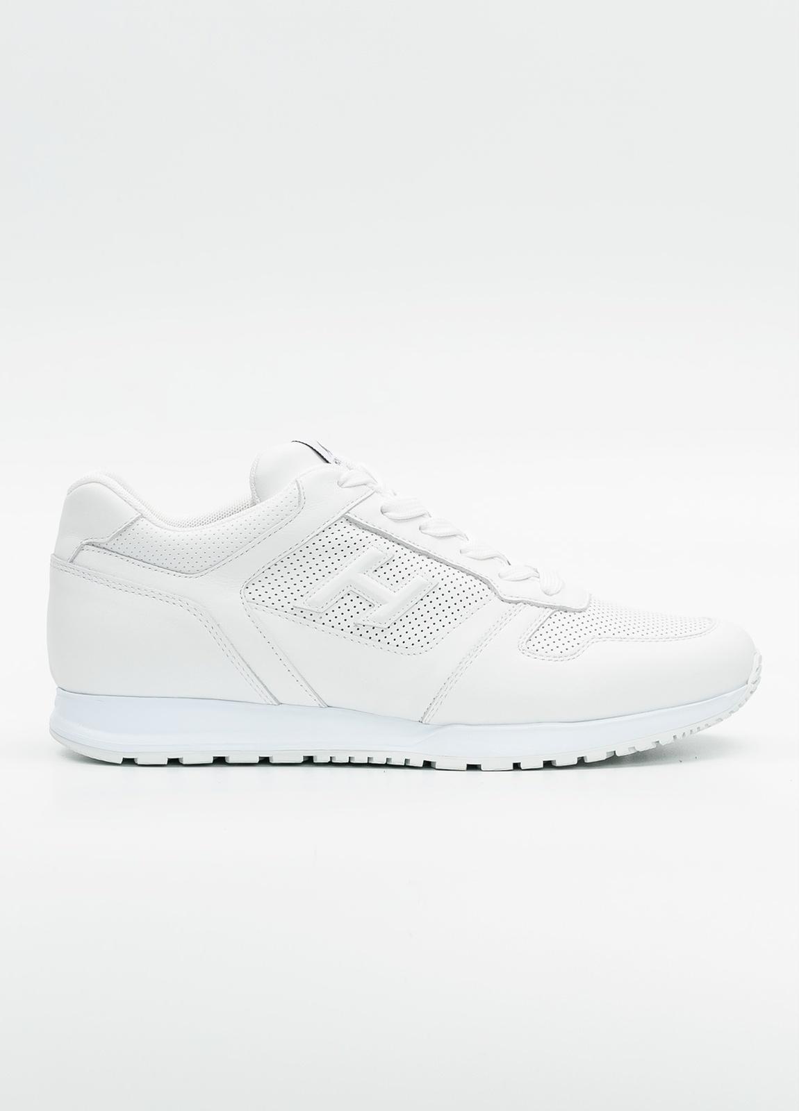 Calzado modelo OLIMPIA color blanco, 100% Piel.