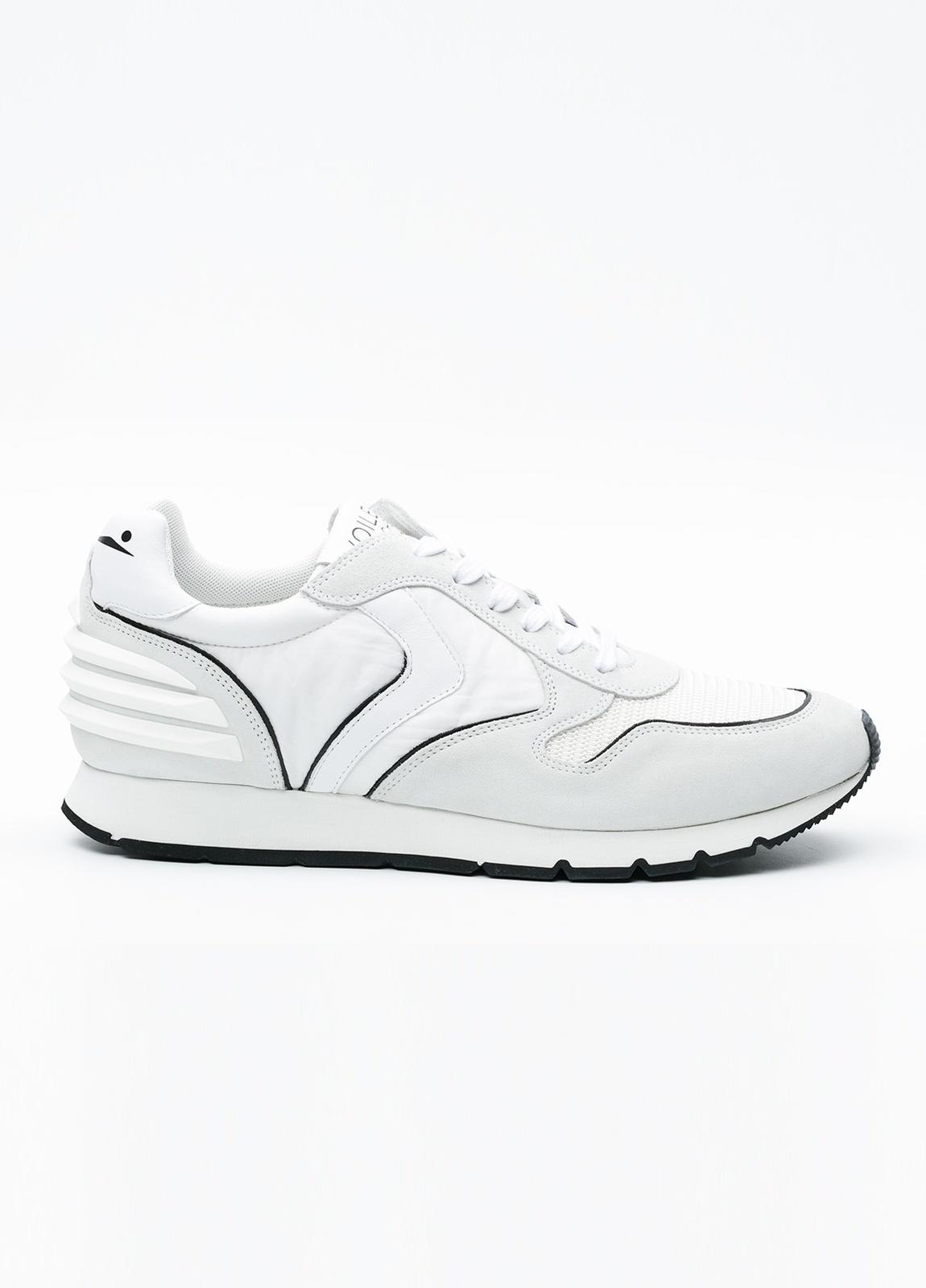 Bambas moda hombre modelo LIAM POWER color blanco.