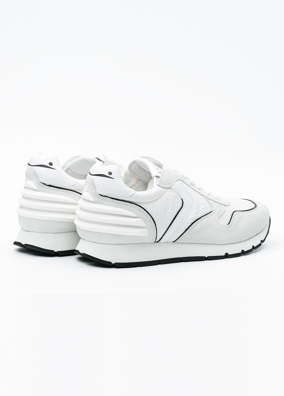 Bambas moda hombre modelo LIAM POWER color blanco. - Ítem2