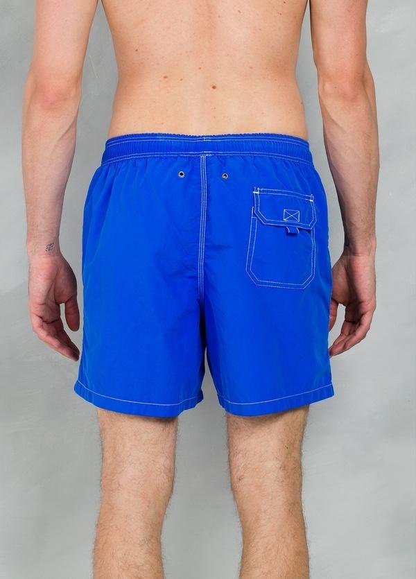 Bañador liso color azul klein, 100% poliamida. - Ítem2