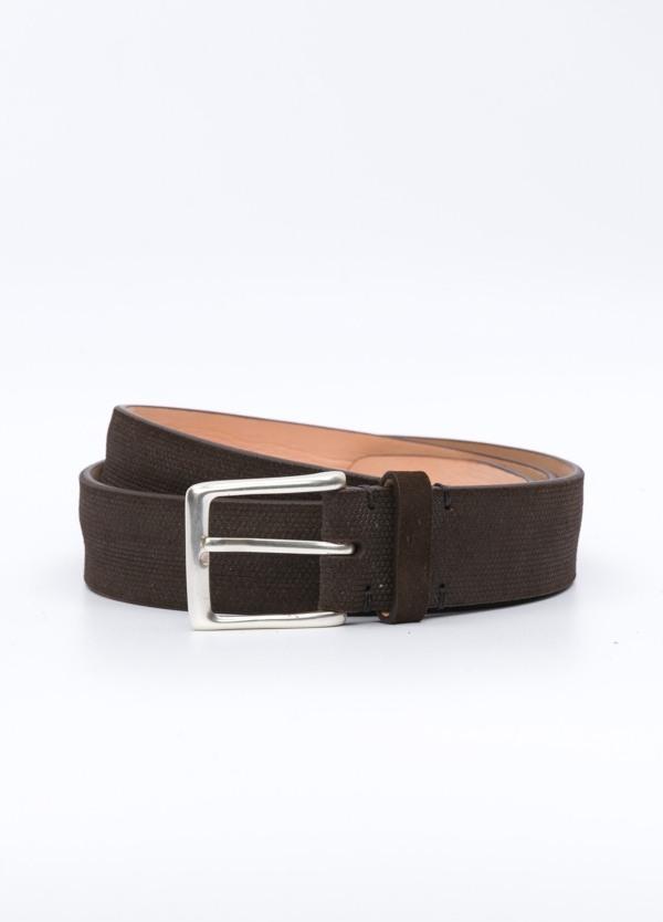 Cinturón Sport FUREST COLECCIÓN marrón