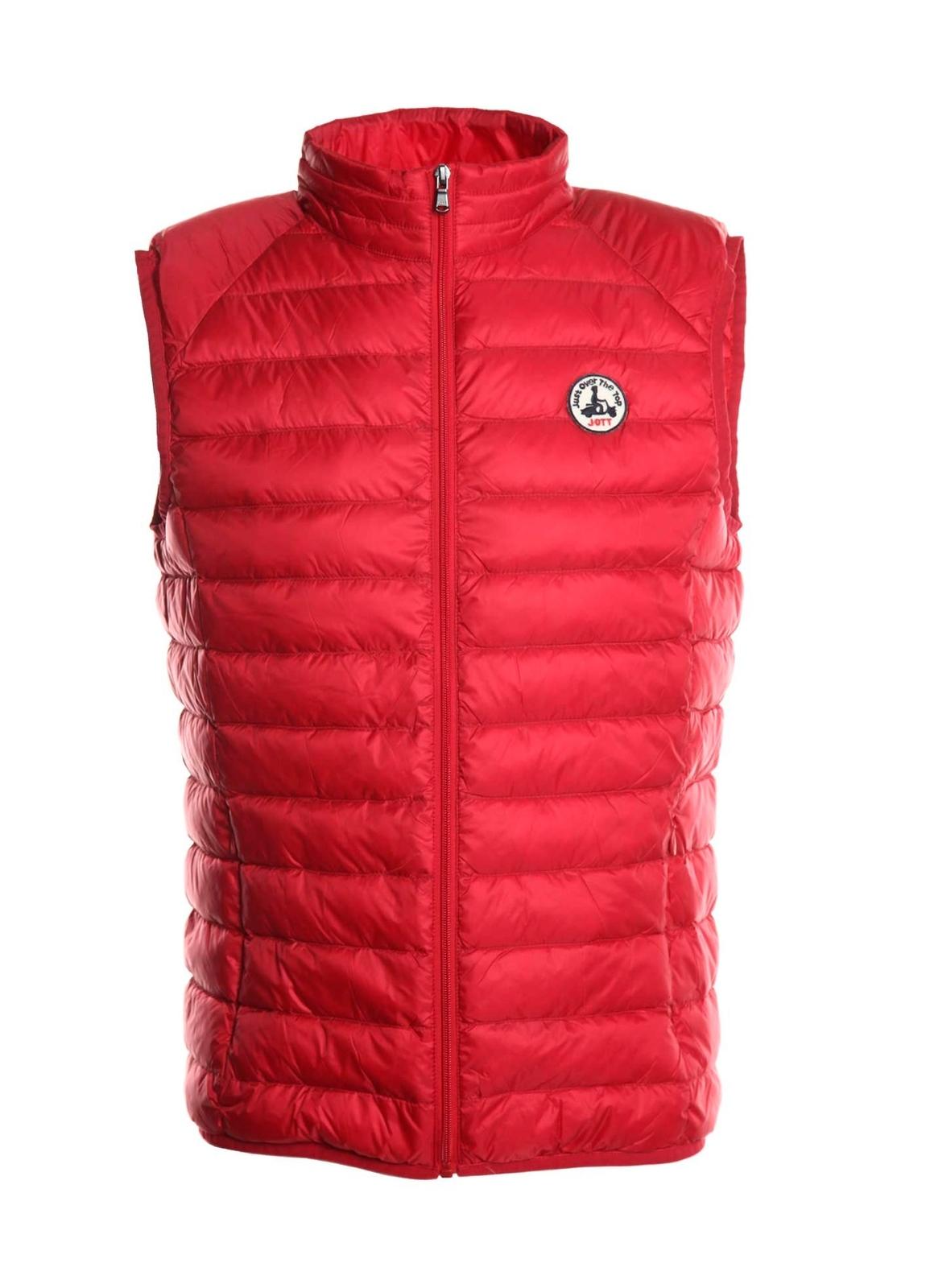 Chaleco ligero modelo TOM color rojo.