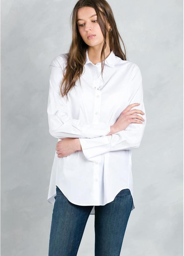 Camisa woman lisa modelo ROXIL color blanco.