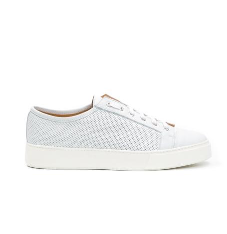 Calzado Sport Wear color blanco, 100% Piel.