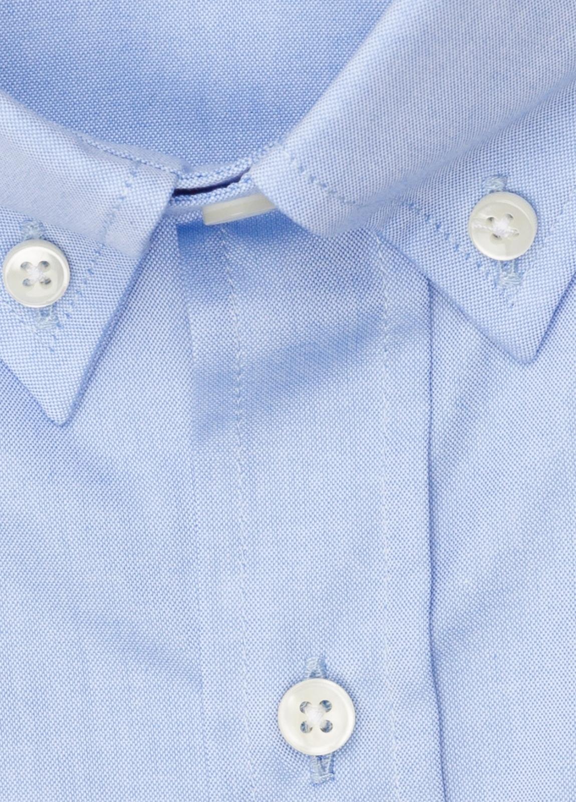 Camisa vestir FUREST COLECCIÓN REGULAR FIT cuello botón pin point celeste - Ítem1