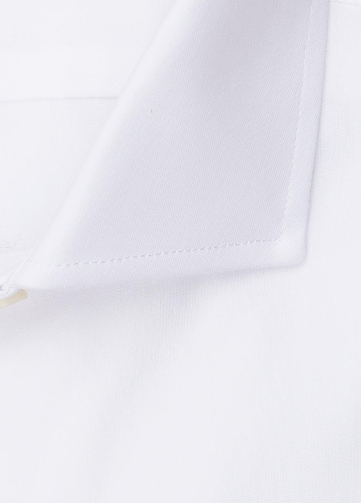 Camisa vestir FUREST COLECCIÓN REGULAR FIT cuello italiano Pin Point blanco - Ítem1