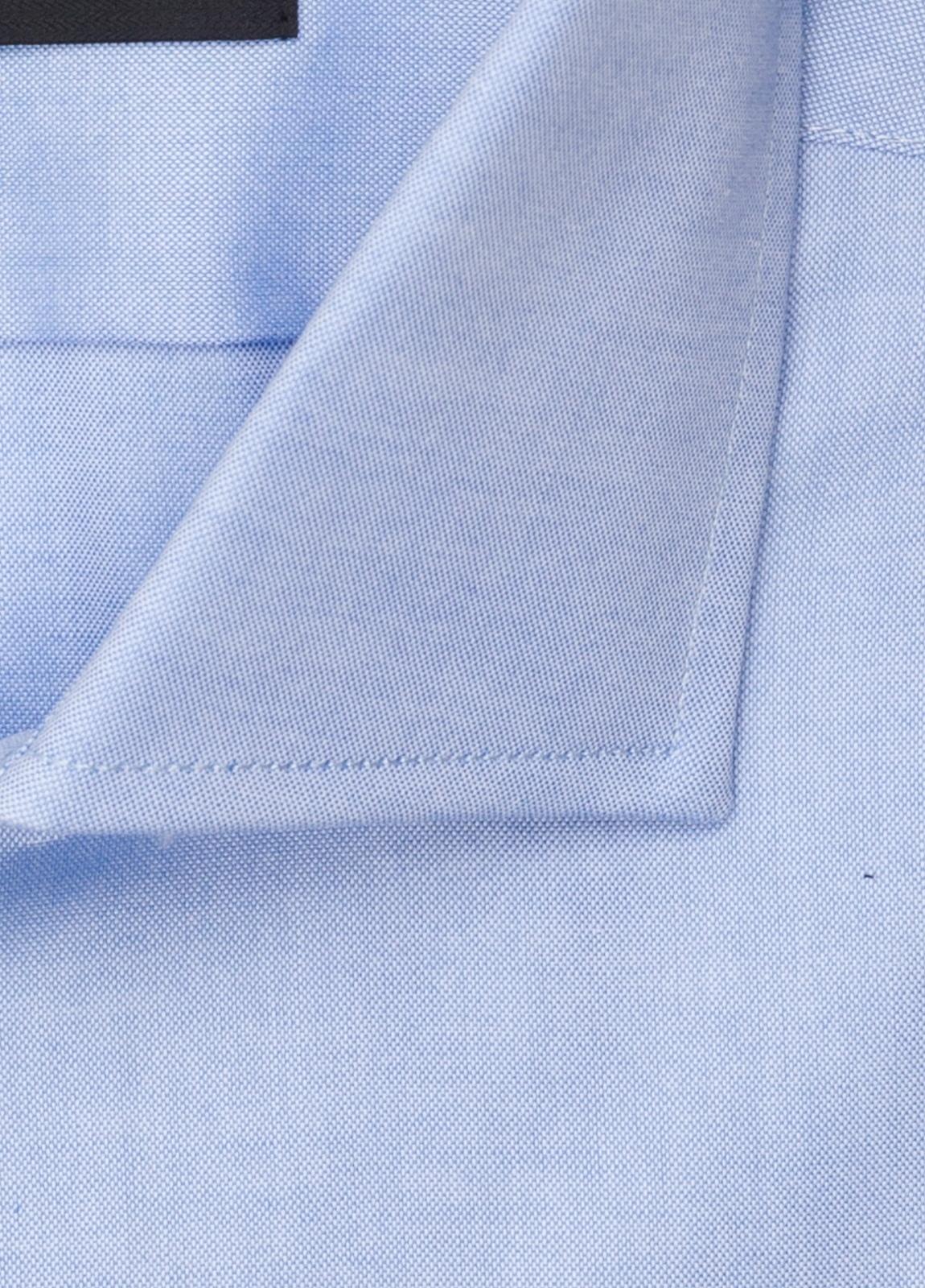 Camisa vestir FUREST COLECCIÓN REGULAR FIT cuello italiano Pin Point celeste - Ítem1