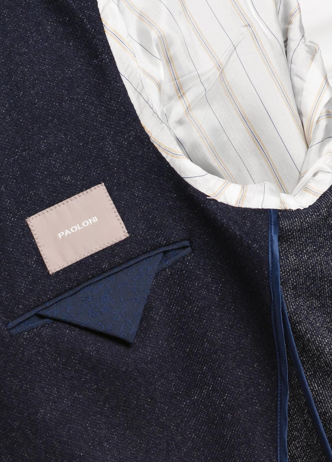 Americana 2 botones SLIM FIT Oxford, color azul marino con botones al tono. 53% Lana 47% Pol. - Ítem4