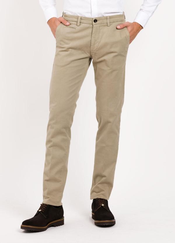 Pantalón sport modelo MUCHA 1-2076 color tostado. Algodón y elastáno.