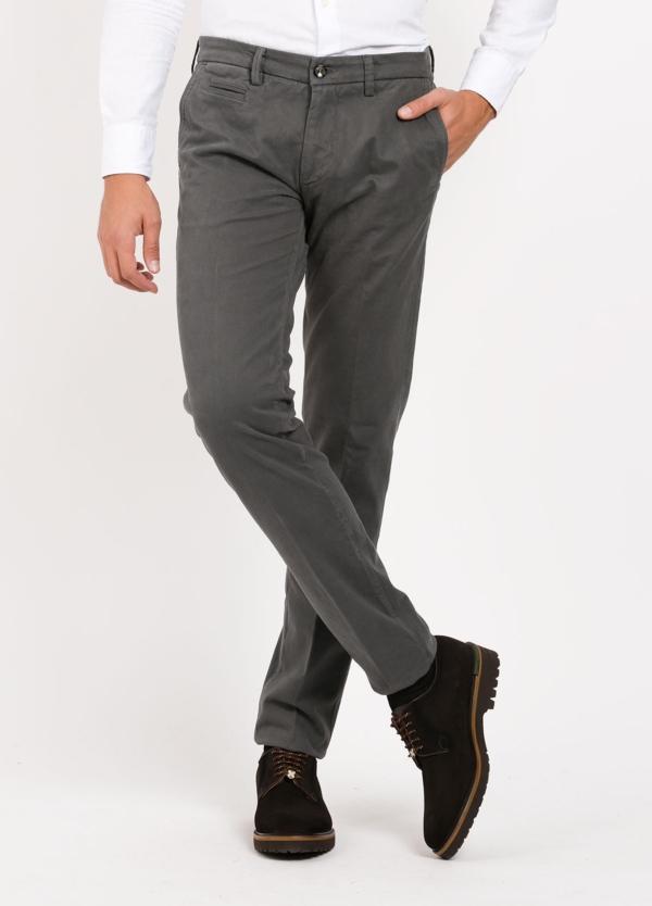 Pantalón sport modelo MUCHA 1-2076 color gris. Algodón y elastáno.