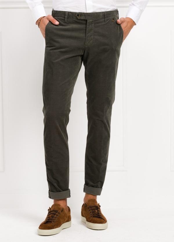 Pantalón sport chino modelo JACK 02 color verde, 97% Algodón, 3% Ea.