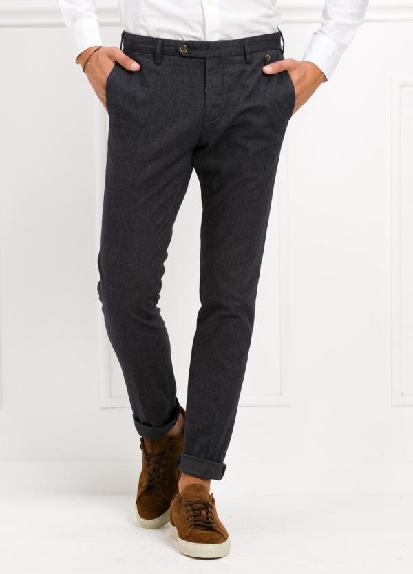 Pantalón sport chino modelo JACK 02 color azul marino, 98% Algodón, 2% Ea.