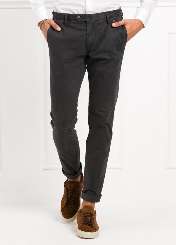 Pantalón sport chino modelo JACK 02 color gris oscuro, 97% Algodón, 3% Ea.