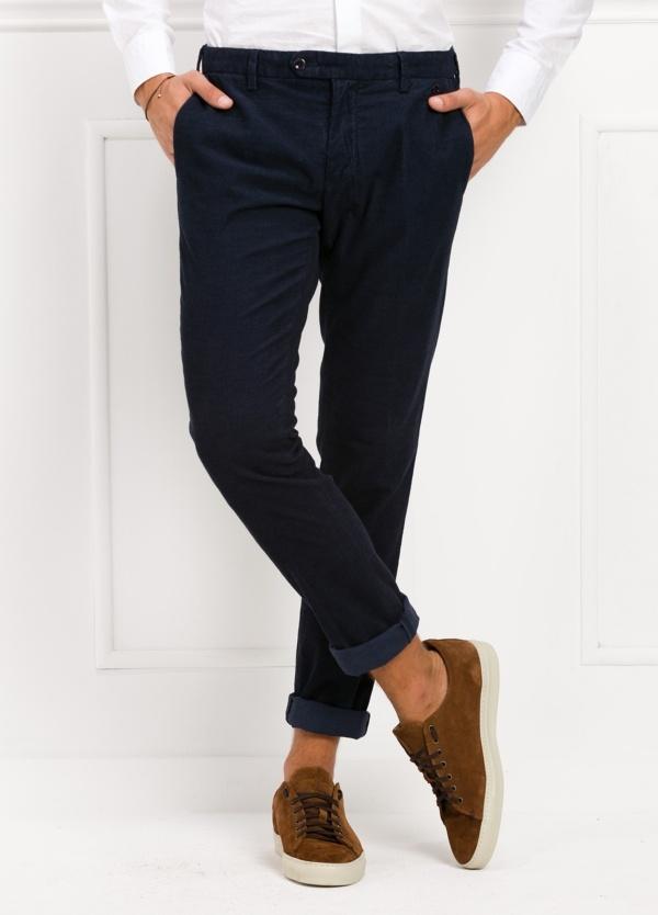 Pantalón sport chino modelo JACK 02 color azul marino, 97% Algodón, 3% Ea.