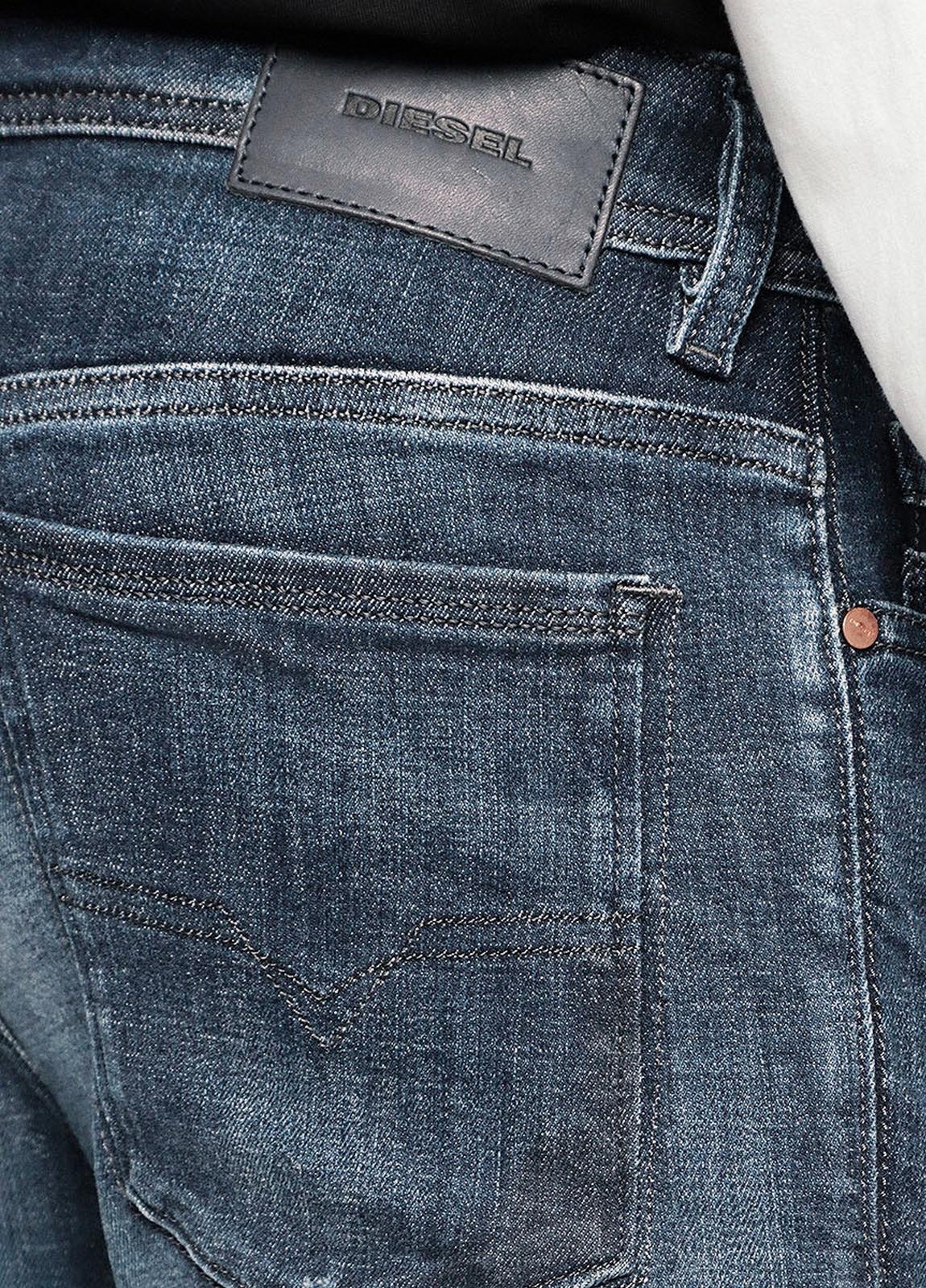Pantalón tejano skinny modelo SLEENKER color azul lavado. 95% Algodón 3% Poliéster 2% Elastáno. - Ítem4