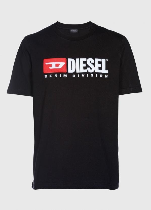 Camiseta básica m/corta de corte recto y logo años 90. Color negro. 100% algodón. - Ítem1