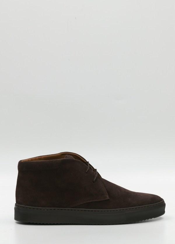 Botín Sport Wear, color marrón oscuro, 100% Ante.