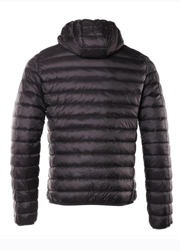 Chaqueta plumón ultra ligera de hombre con capucha. Modelo NICO color gris antracita - Ítem3
