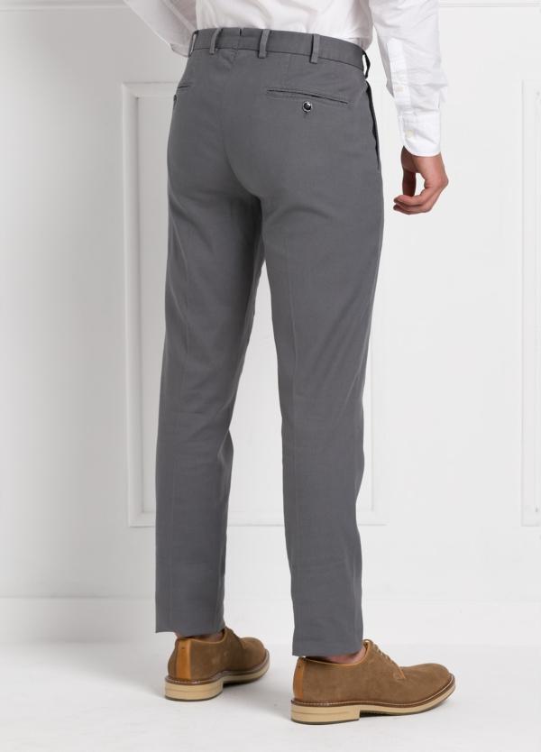 Pantalón chino modelo SANTA color gris. 97% Algodón 3% Elastán. - Ítem2