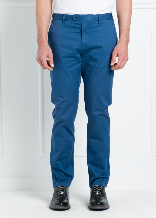 Pantalón chino REGULAR FIT modelo BRIAN color azul. 97% Algodón gabardina 3% Elastán.