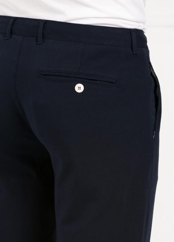 Pantalón de punto color azul marino. 96% Algodón 4% Elastano. - Ítem1