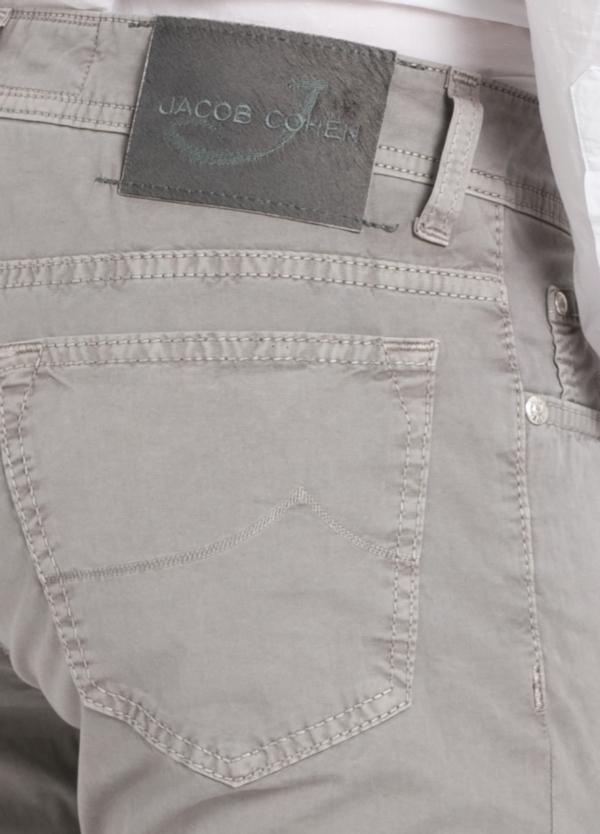 Pantalón cinco bolsillos modelo PW688 color gris. Algodón gabardina vintage. - Ítem3