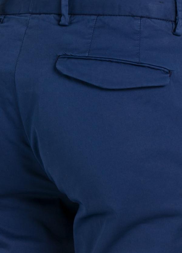 Pantalón modelo slim fit 1 pinza color azul. 97% Algodón 3% Ea. - Ítem1