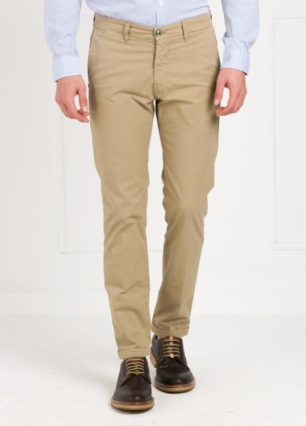 Pantalón sport modelo MUCHA P249 color beige. Algodón y elastáno.