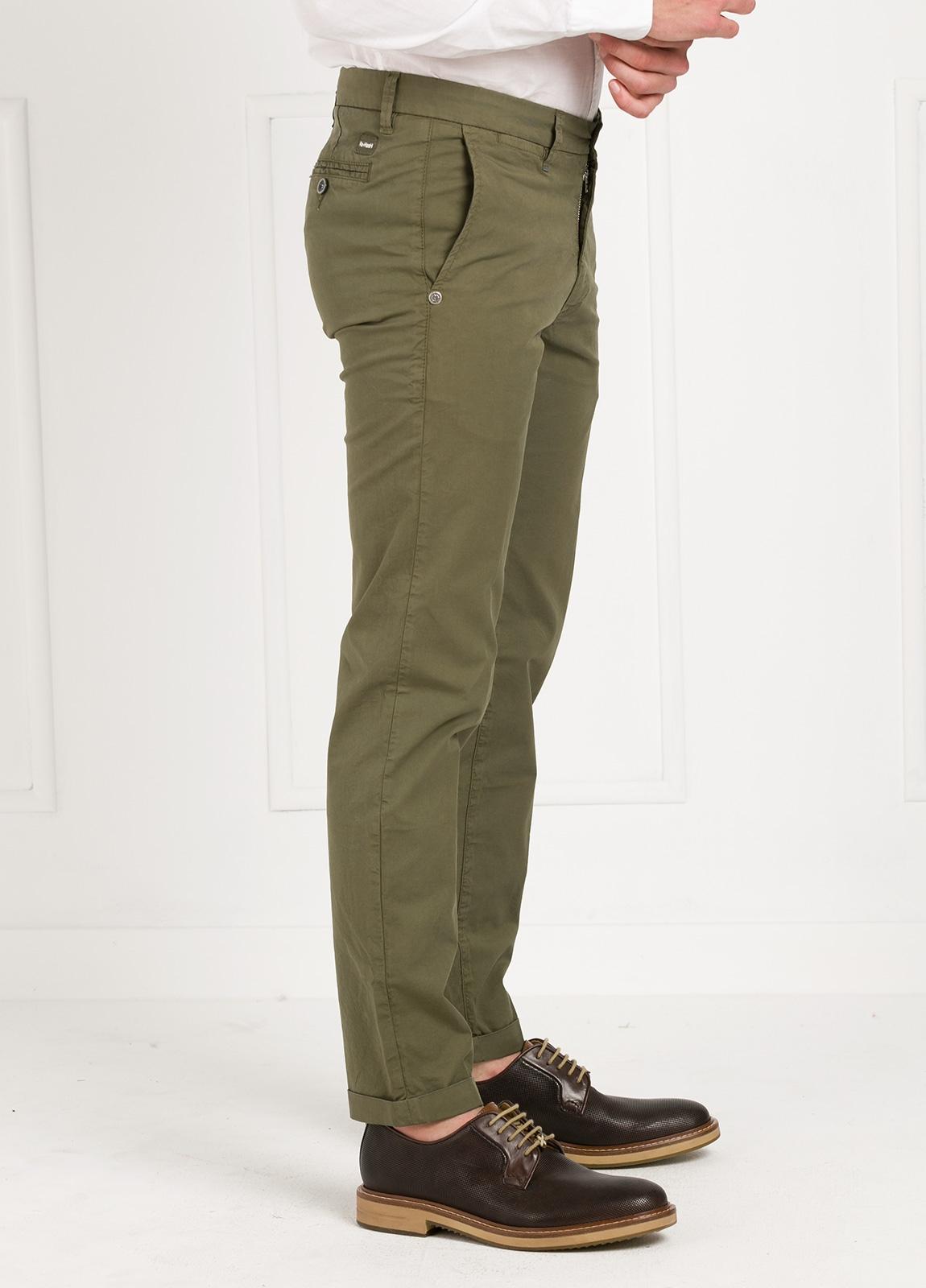 Pantalón sport modelo MUCHA P 249 color kaki. Algodón y elastáno. - Ítem3