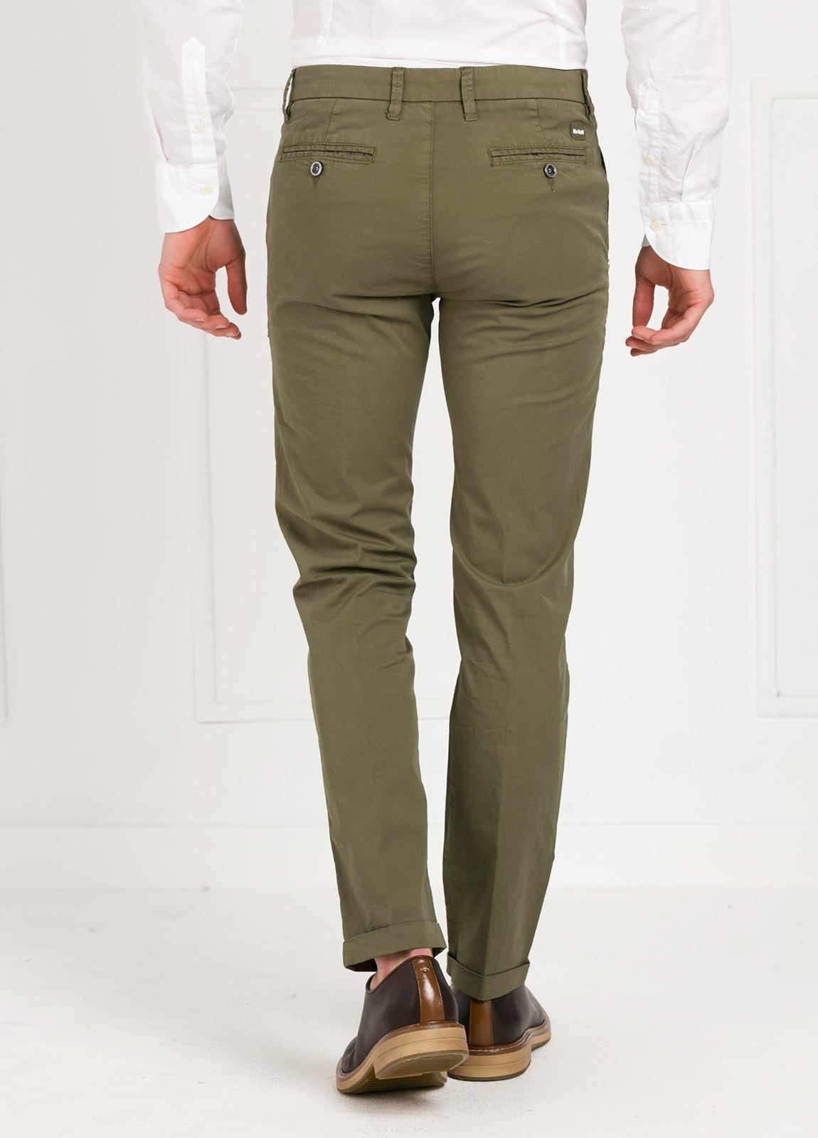 Pantalón sport modelo MUCHA P 249 color kaki. Algodón y elastáno. - Ítem2