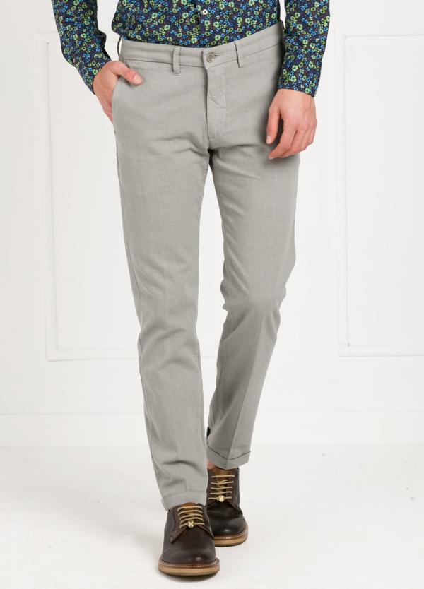 Pantalón sport modelo MUCHA P294 color gris. Algodón y elastáno.